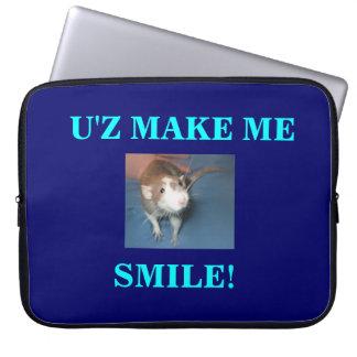 SMILING RAT LAPTOP COVER