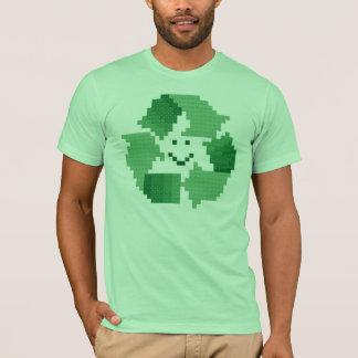 Smiling Recycle Symbol Shirt