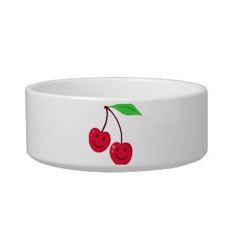 Smiling Red Cherries Bowl