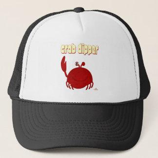 Smiling Red Crab Crab Dipper Trucker Hat