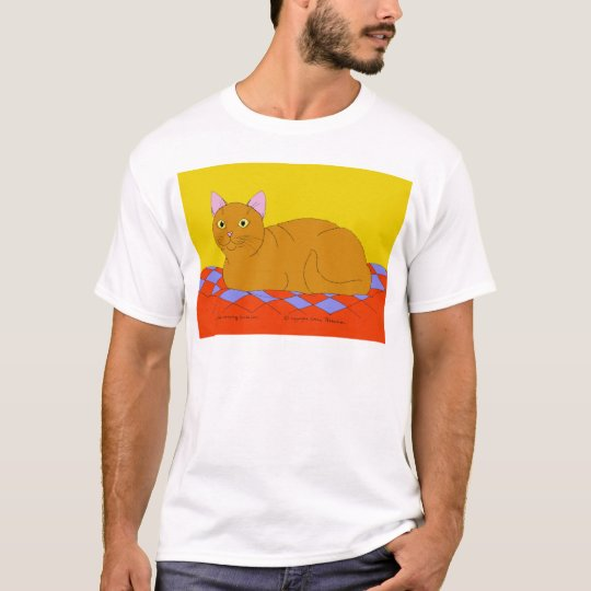 Smiling Red Kitty T-Shirt