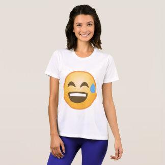 Smiling Relieved Emoji T-Shirt