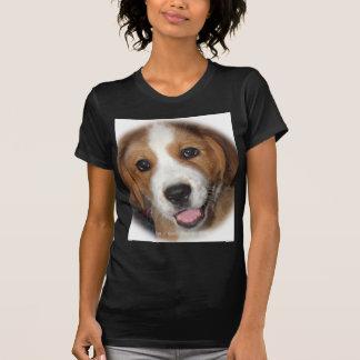 Smiling Rescue Dog Buddy T-shirts