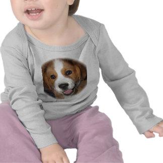 Smiling Rescue Dog Buddy T Shirts