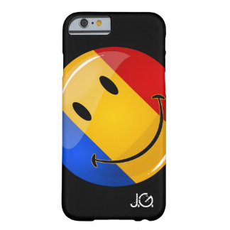 Smiling Romanian Flag Barely There iPhone 6 Case