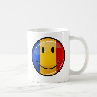 Smiling Romanian Flag Coffee Mug