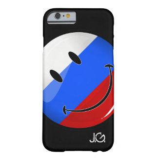 Smiling Russian Flag Barely There iPhone 6 Case