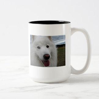 Smiling Samoyed Mug