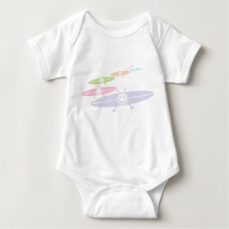 Smiling saucers baby bodysuit