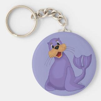 Smiling Sea Lion Keychain