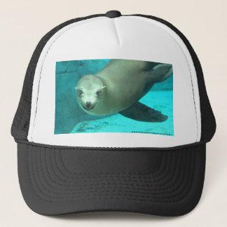 Smiling Sea Lion - Saint Louis Zoo Trucker Hat