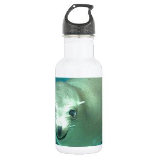 Smiling Sea Lion - Saint Louis Zoo Water Bottle