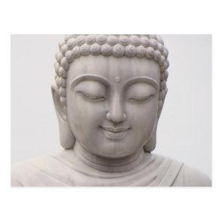 Smiling Serene Buddha Inspirational Love Peace Postcard