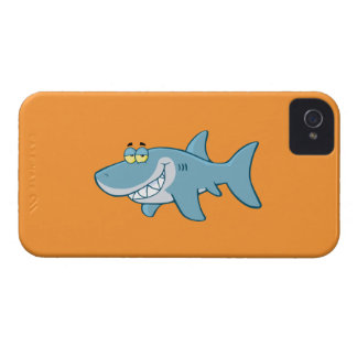 Smiling Shark iPhone 4 Case-Mate Cases