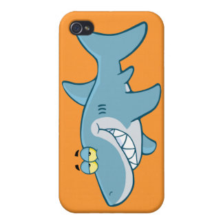 Smiling Shark Covers For iPhone 4