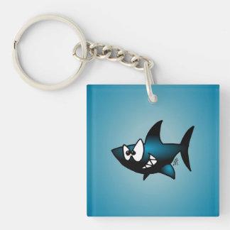 Smiling Shark Acrylic Keychains
