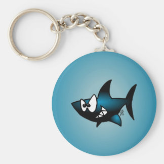 Smiling Shark Keychains