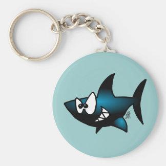 Smiling Shark Key Chain