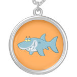 Smiling Shark Personalized Necklace