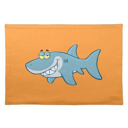 Smiling Shark Place Mat