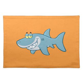 Smiling Shark Cloth Place Mat