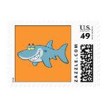Smiling Shark Stamps