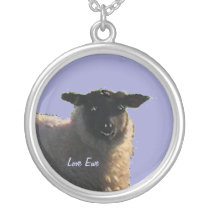 Smiling Sheep Necklace