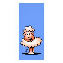 Smiling Sheep Rack Card