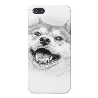 Smiling Shiba Inu dog iPhone SE/5/5s Cover
