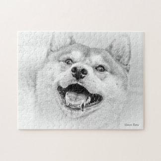 Smiling Shiba Inu dog Puzzle