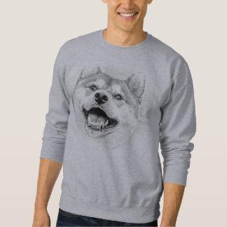 Smiling Shiba Inu dog Sweatshirt