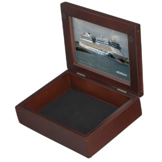 Smiling Ship in Channel Personalized Keepsake Box