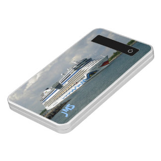 Smiling Ship Monogrammed Power Bank