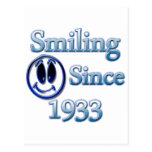 Smiling Since 1933 Post Cards