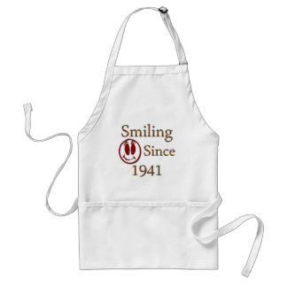 Smiling Since 1941 Aprons