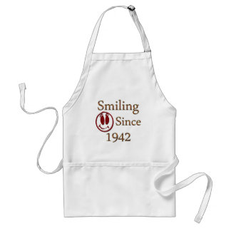Smiling Since 1942 Adult Apron