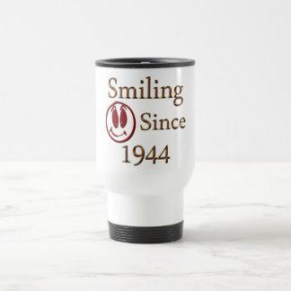 Smiling Since 1944 Travel Mug