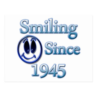 Smiling Since 1945 Postcard