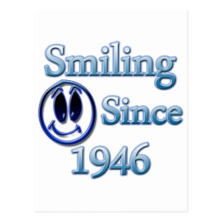 Smiling Since 1946 Postcard
