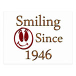Smiling Since 1946 Postcard