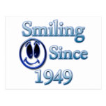Smiling Since 1949 Post Cards