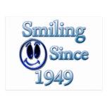 Smiling Since 1949 Postcard