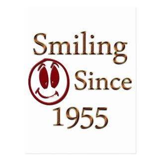 Smiling Since 1955 Postcard