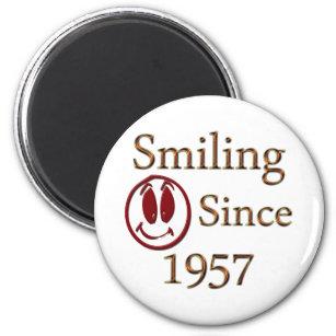 Smiling Since 1957 Magnet