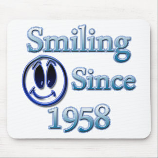 Smiling Since 1958 Mouse Pad
