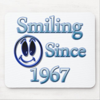 Smiling Since 1967 Mouse Pad