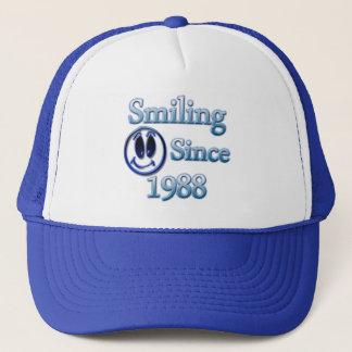 Smiling Since 1988 Trucker Hat