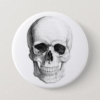 Smiling Skull Button