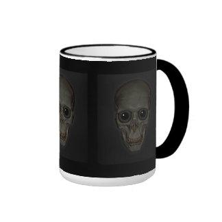 Smiling Skull with eyes Coffee Mug