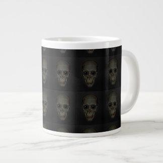 Smiling Skulls with eyes pattern Extra Large Mug
